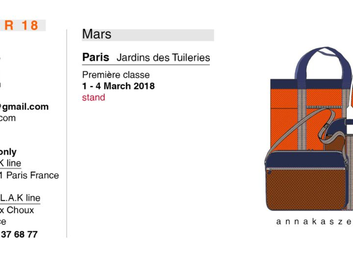 Collection Mars 2018 – Salons